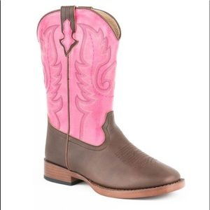 Smart Fit Pink Cowgirl Cowboy Boots Girls Size 1